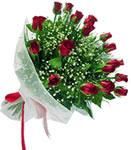 Adana çiçek gönder internetten çiçek satışı  11 adet kirmizi gül buketi sade ve hos sevenler