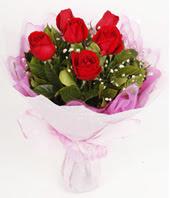 9 adet kaliteli görsel kirmizi gül  Adana çiçek yolla çiçek gönderme