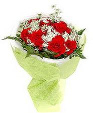Adana çiçek gönder çiçek , çiçekçi , çiçekçilik  7 adet kirmizi gül buketi tanzimi