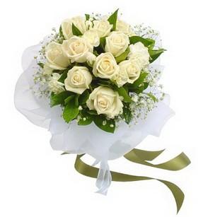 Adana çiçek siparişi online çiçekçi , çiçek siparişi  11 adet benbeyaz güllerden buket