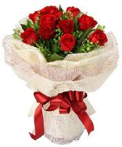 12 adet kırmızı gül buketi  Adana çiçek siparişi anneler günü çiçek yolla