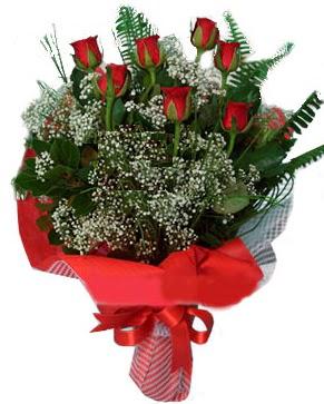 7 kırmızı gül buketi  Adana çiçek siparişi çiçek servisi , çiçekçi adresleri