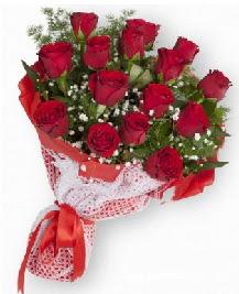 11 kırmızı gülden buket  Adana çiçek siparişi güvenli kaliteli hızlı çiçek