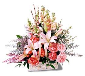 Adana çiçek gönder çiçek siparişi sitesi  mevsim çiçekleri sepeti özel tanzim