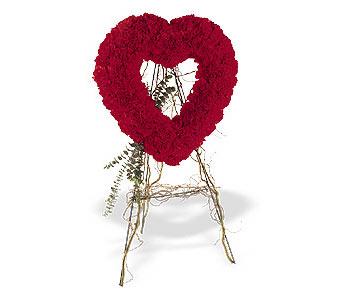Adana çiçek gönder internetten çiçek satışı  karanfillerden kalp pano