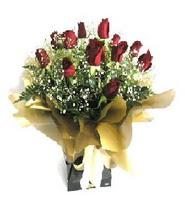 Adana çiçek siparişi internetten çiçek siparişi  11 adet kirmizi gül  buketi