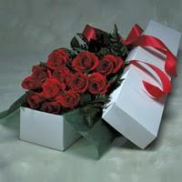 Adana çiçek siparişi online çiçek gönderme sipariş  11 adet gülden kutu