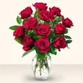 Adana çiçek yolla çiçek yolla  10 adet gül cam yada mika vazo da