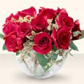 Adana çiçek siparişi çiçek online çiçek siparişi  mika yada cam içerisinde 10 gül - sevenler için ideal seçim -