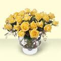 Adana çiçek yolla çiçekçi telefonları  11 adet sari gül cam yada mika vazo içinde