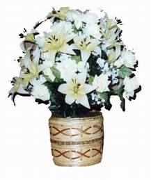 yapay karisik çiçek sepeti   Adana çiçek siparişi çiçek mağazası , çiçekçi adresleri