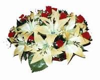 yapay karisik çiçek sepeti   Adana çiçek siparişi internetten çiçek siparişi