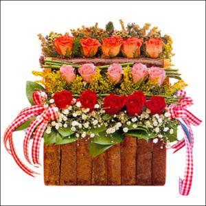 sandikta 3 kat güllerden   Adana çiçek siparişi cicekciler , cicek siparisi