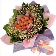 11  adet  gül ve   elyaflar   Adana çiçek gönder çiçekçi mağazası