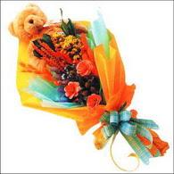 ayicik gül ve kir çiçekleri   Adana çiçek gönder çiçekçi mağazası