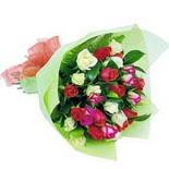 12 adet renkli gül buketi   Adana çiçek yolla çiçek gönderme sitemiz güvenlidir
