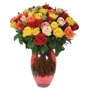 51 adet gül ve kaliteli vazo   Adana çiçek yolla çiçek gönderme sitemiz güvenlidir