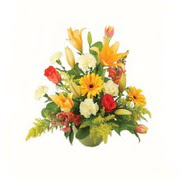 karisik renkli çiçekler tanzim   Adana çiçek yolla çiçek gönderme sitemiz güvenlidir