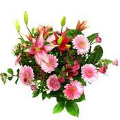 lilyum ve gerbera çiçekleri - çiçek seçimi -  Adana çiçek yolla çiçek gönderme