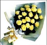 sari güllerden sade buket  Adana çiçek gönder çiçek , çiçekçi , çiçekçilik