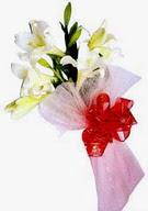 Adana çiçek gönder çiçek , çiçekçi , çiçekçilik  ince vazoda gerbera ve ayi