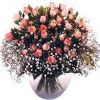 büyük cam fanusta güller   Adana çiçek yolla çiçek yolla