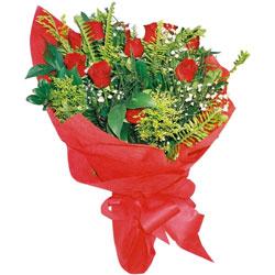 11 adet gül buketi sade ve görsel  Adana çiçek siparişi cicekciler , cicek siparisi