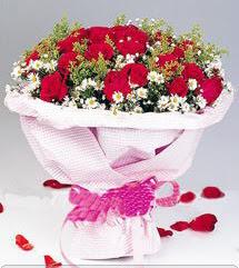 Adana çiçek gönder internetten çiçek satışı  12 ADET KIRMIZI GÜL BUKETI