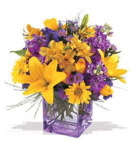 Adana çiçek siparişi çiçek mağazası , çiçekçi adresleri  cam içerisinde kir çiçekleri demeti