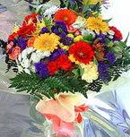 Adana çiçek gönder hediye çiçek yolla  karma büyük ve gösterisli mevsim demeti