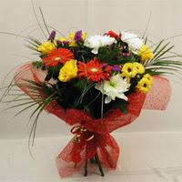 Adana çiçek gönder hediye çiçek yolla  Karisik mevsim demeti