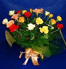 Adana çiçek gönder hediye çiçek yolla  13 adet karisik renkli güller