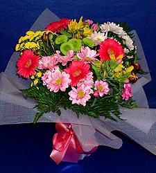karisik sade mevsim demetligi   Adana çiçek siparişi 14 şubat sevgililer günü çiçek