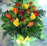 13 adet karisik gül buketi demeti   Adana çiçek siparişi uluslararası çiçek gönderme