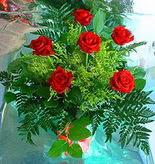 6 adet kirmizi gül buketi   Adana çiçek siparişi online çiçek gönderme sipariş