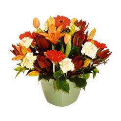 mevsim çiçeklerinden karma aranjman  Adana çiçek siparişi çiçek yolla , çiçek gönder , çiçekçi