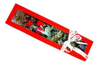 Adana çiçek gönder hediye çiçek yolla  Kutuda 3 adet gül