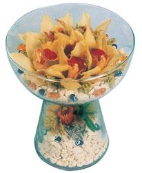 Adana çiçek gönder çiçek siparişi sitesi  Cam içerisinde 4 adet kandil orkide