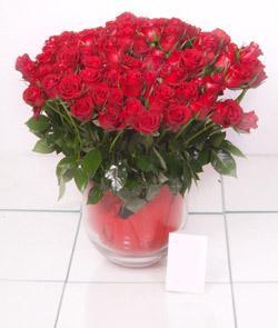 Adana çiçek siparişi cicek , cicekci  101 adet kirmizi gül