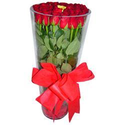 Adana çiçek siparişi çiçek online çiçek siparişi  12 adet kirmizi gül cam yada mika vazo tanzim