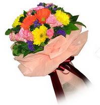 Adana çiçek gönder çiçekçi mağazası  Karisik mevsim çiçeklerinden demet