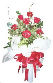 Adana çiçek gönder çiçek siparişi sitesi  7 adet kirmizi gül buketi