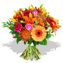 Adana çiçek yolla çiçekçi telefonları  Karisik kir çiçeklerinden görsel demet