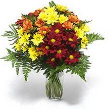 Adana çiçek gönder çiçek siparişi sitesi  Karisik çiçeklerden mevsim vazosu