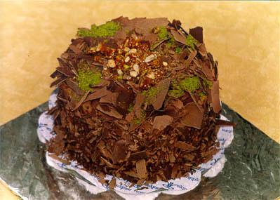 Çikolatali 4 ila 6 kisilik yas pasta  Adana çiçek yolla çiçek gönderme sitemiz güvenlidir