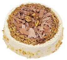 Karamelli 4 ile 6 kisilik yas pasta  Adana çiçek yolla çiçek yolla