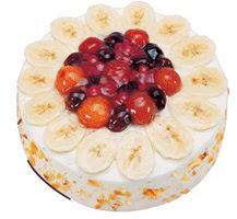Meyvali 4 ile 6 kisilik yas pasta leziz  Adana çiçek gönder ucuz çiçek gönder