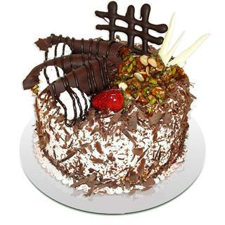 4 ile 6 kisilik çikolatali yas pasta  Adana çiçek siparişi kaliteli taze ve ucuz çiçekler