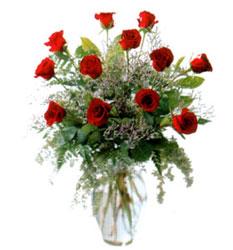 Vazo içerisinde 11 kirmizi gül  Adana çiçek siparişi çiçek siparişi vermek