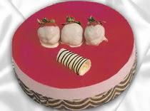 pasta siparisi 4 ile 6 kisilik yas pasta çilekli yaspasta  Adana çiçek siparişi çiçek servisi , çiçekçi adresleri